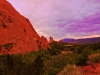 Sunset At The Garden Of The Gods