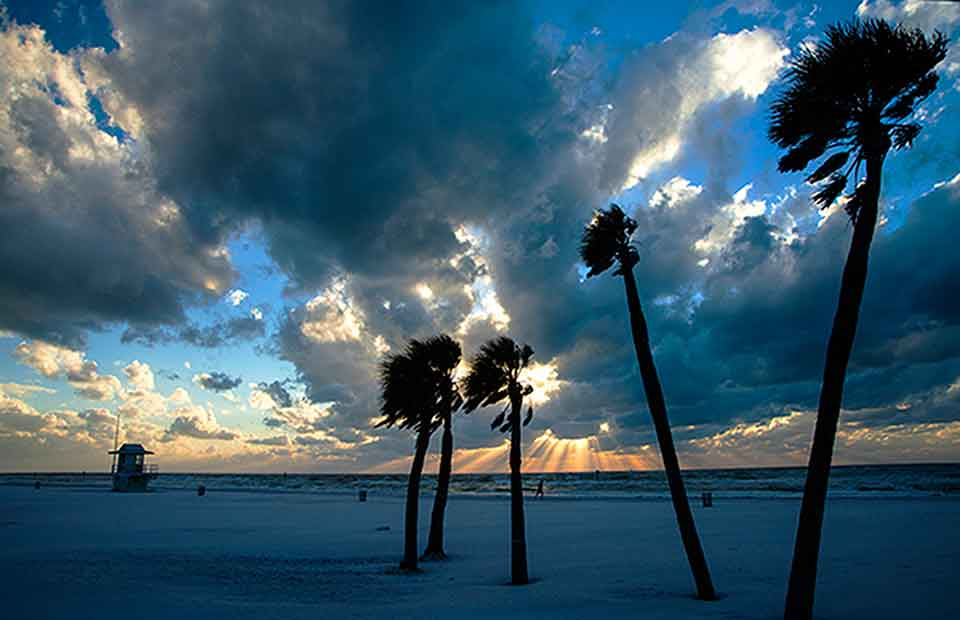 Winter on Clearwater Beach